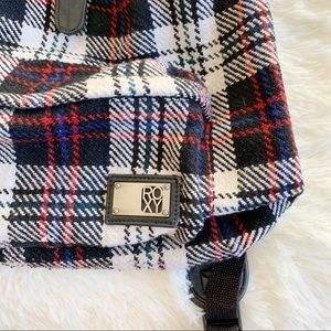 Roxy Bags - ROXY LARGE PLAID PACKPACK BAG (0875)